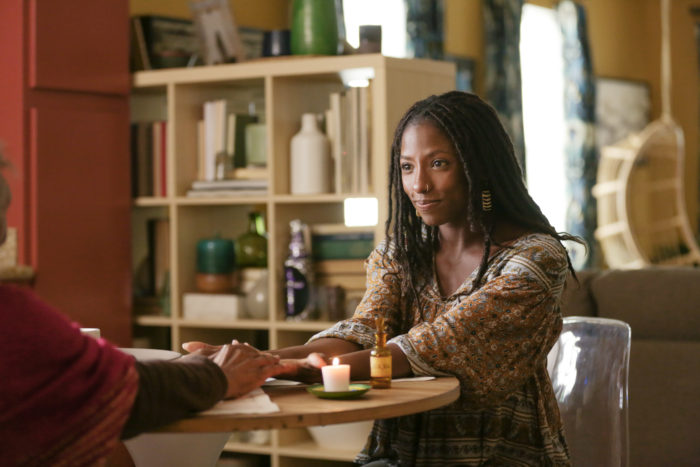 Nova (played by Rutina Wesley) on Queen Sugar. Courtesy of OWN.