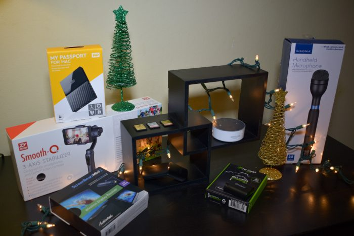 Content Creators Holiday Gift Guide